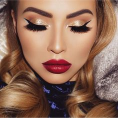 Red Lip Fantasy. Sexy and seductive - makeup to seduce!