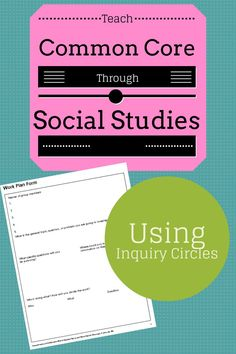 Blog post about teaching the research common core standards through Social Studies.  Includes FREE resources! by One Stop Teacher Shop.