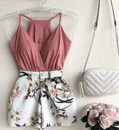 Perfect Summer Outfit Combinations for Women - Outfit Styles Teenage Outfits, Teen Fashion Outfits, Mode Outfits, Cute Fashion, Outfits For Teens, Dress Outfits, Girl Outfits, Style Fashion, Fashion Ideas