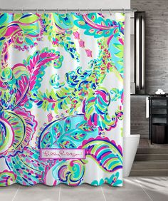 """New Custom Lilly Pulitzer Colorful Art Shower Curtain 60"""" x 72"""" #Unbranded #Modern #Best #Design #Cheap #Gift #Beautiful #Showercurtain #Beautifulshowercurtain #lilypulitzer"""
