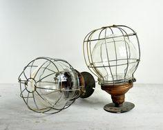 Industrial Factory Light Fixtures.