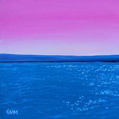 Minimalist #1 by Giselle Vidal McMenamin Oil ~ 8 x 8
