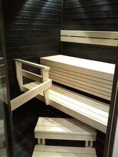 Saunan lauteet, valmislauteet | LaattaBest Sauna Design, Saunas, Stairs, Future, Bathroom, Retro, Decoration, Home Decor, Washroom