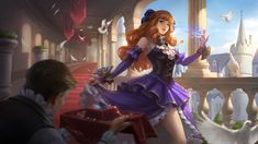 This HD wallpaper is about Mobile Legends, Guinevere, Miss Violet, Original wallpaper dimensions is file size is Mobile Legend Wallpaper, Hero Wallpaper, Carmilla, Bang Bang, Miya Mobile Legends, Hero Fighter, Moba Legends, Alucard Mobile Legends, Online Battle