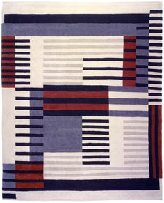 Anni Albers rugs by Christopher Farr.