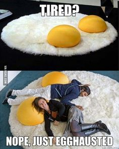 Egg tastic napping carpet