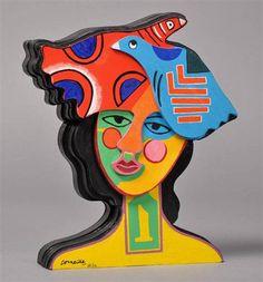Corneille 1922 2010 Sculpture Originale Signée ET Numérotée Birds IN Love | eBay