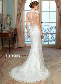 If you want to feel like a fairy tale princess on your wedding day, Kitty Chen Couture wedding dresses 2015 is the collection for you. There are magnificently sexy gowns in luxurious fabrics, all lavishly decorated with well crafted detailing like exquisite beading, soft embroideries and stunning back designs. Happy pinning!