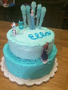 frozen birthday cakes | Frozen birthday cake