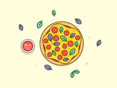 Pizza Friday by Egor Kosten