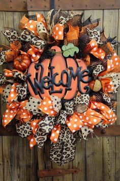 This is my kind of FALL wreath