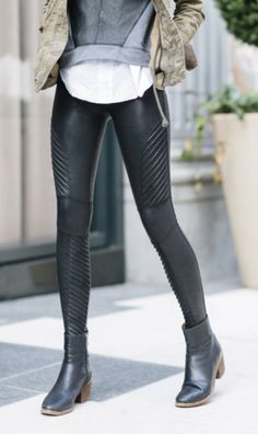 bda32d68368273 Spanx Faux Leather Moto Leggings Leather Pants, Leather, Leather Tights