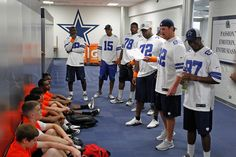 Players served as coaches at CowboysU