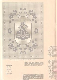 "Photo from album ""bebe"" on Yandex. Lace Doilies, Crochet Doilies, Crochet Lace, Crochet Diagram, Filet Crochet, Crochet Patterns, Crochet Decoration, Crochet Home Decor, Cross Stitch Fabric"