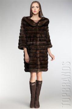 Купить пальто италия меховое