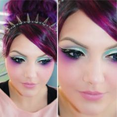 great look for a fairy ~ Makeup of the Day by Brittany C