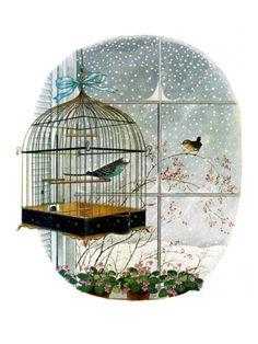 "Gyo Fujikawa  ""Birdtalk""  January 6, 1962.  I MUST HAVE THIS."