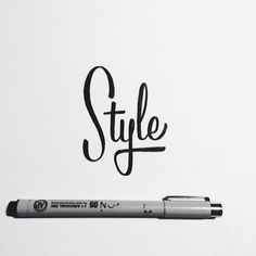 SerialThriller™ — type-lover: Brush Lettering Collection by Neil...