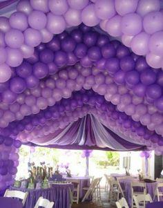 Beautiful Shades of Purple Balloons. The Purple, Purple Lilac, All Things Purple, Shades Of Purple, Purple Stuff, Bright Purple, Pink, Periwinkle, Purple Party