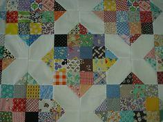 30's fabrics. Actually looks like fairly simple construction.