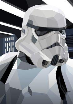 """""""Stormtrooper"""" by Liam Brazier"""