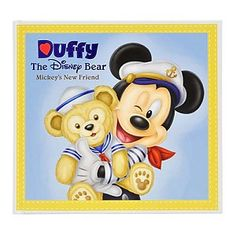 Disney Book - Duffy The Disney Bear Mickey's New Friend