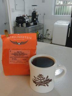 アメリカから届いたばかりの  仙台のコーヒー教室&交流会で使用します    グアテマラ Itzamna La Maravilla ウエウエテナンゴ地区  ブルボン種、カツーラ種 1500-1850m    青りんごのようなみずみずしく甘いフレッシュな風味★