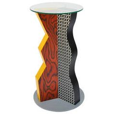 High Table Ivory by Ettore Sottsass, Memphis