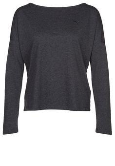 Puma ACTIVE - Langærmede T-shirts - dark gray heather - Zalando.dk