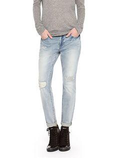 DKNY Jeans Bleeker Boyfriend, Patched - DKNY $89.50