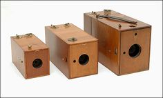 Old antique cameras: A B and C Kodak Ordinary cameras Eastman Kodak Company Kodak Camera, Box Camera, Antique Cameras, Vintage Cameras, Great Photographers, Camera Photography, Professional Photography, Old Antiques, The Past