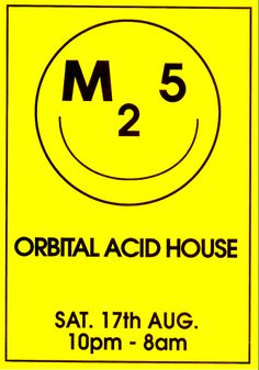 M25 Orbital Acid House: Saturday, 17 August 1991