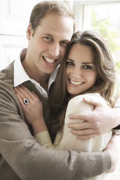 William proposed to Kate while in Kenya, offering her the sapphire and diamond engagement ring that had belonged to his mother, the late Princess Diana. The ring is a 12 carat oval sapphire surrounded by 14 diamonds in 18K white gold. Their engagement was announced on November 16, 2010. Diana would have approved of William's choice.