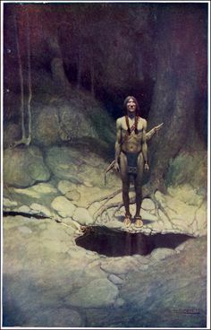 N.C. Wyeth :: the indian in his solitude
