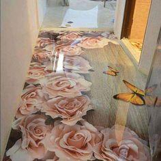epoxy flooring designs and floor art murals - Cornelius Adeniyi