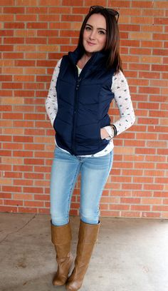 puffer vest - the style lineup - winter outfits - puffer vest outfits - winter outfit