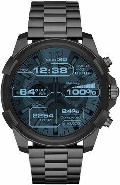 DIESEL ON FULL GUARD, DZT2004 Smartwatch (Android Wear, mit individuell einstellbarem Zifferblatt)