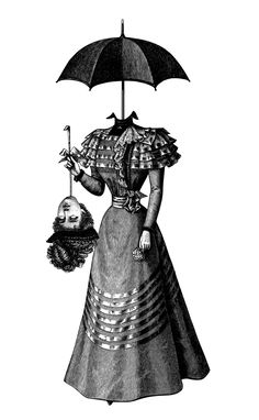Olex Oleoles Bizarre Victorian Inspired Illustrations Hi - Olex Oleoles Bizarre Victorian Inspired Illustrations By Eva Recinos Posted On August With A Decidedly Victorian Twist Olex Oleole Puts Together Images That Dont Quite Fit Tog Metal Tree Wall Art, Metal Art, Victorian Illustration, Illustration Art, Girl Illustrations, Arte Tim Burton, Tattoo Modern, Victorian Tattoo, Arte Horror