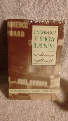 Underfoot in Show Business , paperback , by Helen Hanff, in new condition