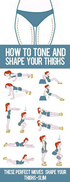 8 Simple Exercises To Reduce Thigh Fat reduce weight thigh workouts Reduce Thigh Fat, Exercise To Reduce Thighs, Do Exercise, Cellulite Wrap, Reduce Cellulite, Anti Cellulite, Cellulite Exercises, Cellulite Remedies, Thigh Exercises