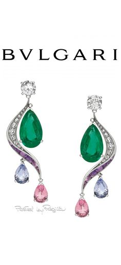 Posts about Bulgari: Giardini Italiani written by Claudia Carletti Camponeschi Bulgari Jewelry, Jewelry Design Earrings, Jewelery, Jewelry Accessories, Weird Jewelry, High Jewelry, Emerald Earrings, Emerald Jewelry, Bvlgari Earrings