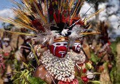 Hagen woman papua New Guinea   Flickr - Photo Sharing!