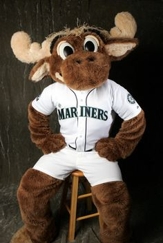 Mariner Moose seriously? i need to get to a mariners game!