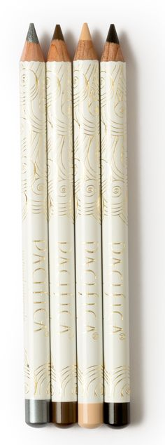 Pacifica Eye Pencils A waterproof, buttery smooth eye pencil that glides on easily to avoid pulling on the delicate eye area.  Color that glides on and stays put for those perfectly defined eyes.  Whether it be a very fine line or the ever glamorous cat-eye, these pencils provide the right amount of saturated color to make your eyes pop. No animal testing.  100% vegan and cruelty free.