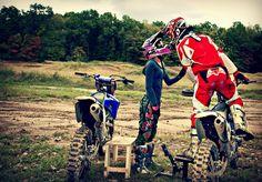 Love motocross, the charming of motocross.