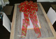 Best Big DIY Holiday Bows -