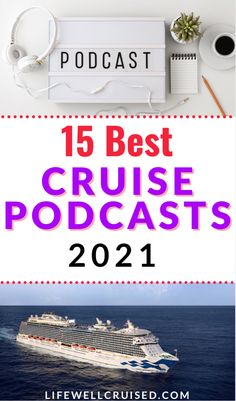 Do you love cruising? One of the best ways to get your cruise fix, and learn more about cruising and travel is to listen to cruise podcasts. Check out this list of top 15 most recommended cruise influencers (including some of your favorites)!