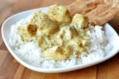 Mel's Kitchen Cafe | Basil Chicken in Coconut Curry Sauce