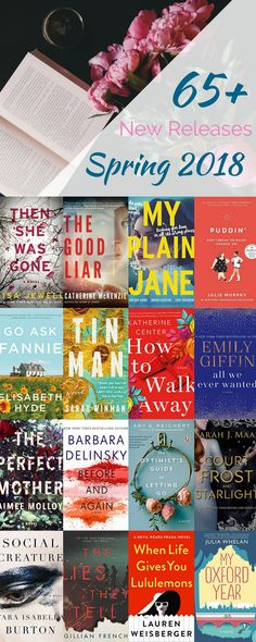We narrowed down all the new release to the very best choices for spring 2018. From April to June, these 70 books will have you begging for a beach day! Beloved and debut authors alike are represented on this list, as are all genres. You'll find so many hot new reads you won't know where to start first!