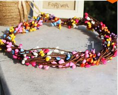 Find More Decorative Flowers & Wreaths Information about HR,Mixed Colors DIY Artificial Flower Wreath for Wedding Wreath/Hair Decorative Pip Berry Stem Wreath Wedding Bouquet Decoration,High Quality flower girl head wreath,China flower mass Suppliers, Cheap flower ocean from Decor Specialist on Aliexpress.com